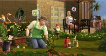 The Sims 4, gardening provides a good source of income