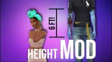Your world can finally have some variety when it comes to Sim height.