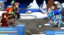 Work together in Epic Battle Fantasy 3 and stay frosty.