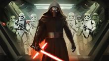Kylo Ren and First Order Stormtroopers ready to commit some war crimes,