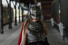 Jane Foster as Thor.