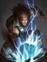Thor is a viking and you can totally use the barbarian class to make him a D&D character