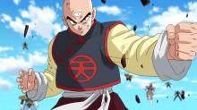 Tien ready for a fight