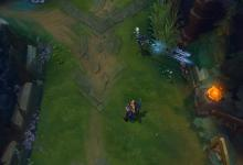 Camille stuns an opponent with her E, hook shot.