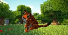 A Tiger from Mo'Creatures