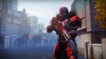 A Titan with Redrix Broadsword