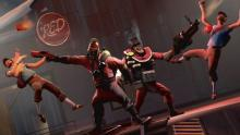 Red team gearing for battle