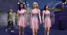 Simmers can create exclusive clubs and wear matching outfits together