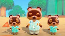 Tom Nook and brothers Timmy & Tommy welcome us to the upcoming Animal Crossing game.