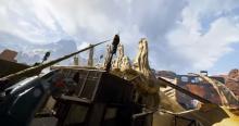 Pathfinder grappling over Skulltown.