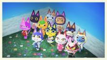 There are so many different kinds of cat villagers in New Horizons.