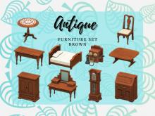 The Antique series is one of the most popular collections of furniture in the game.