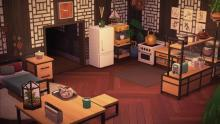 The Ironwood furniture collection is very popular with Animal Crossing players.