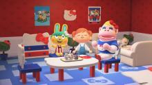 Get Sanrio furniture with the Animal Crossing: New Horizons Sanrio Amiibos.