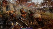 Bardin battling a horde of rats