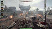 Victor preparing for combat