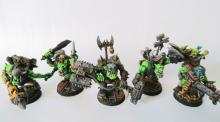Ork kill team ready for action