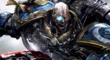 A Space Marine veteran fights a fierce battle for his life and the Imperium