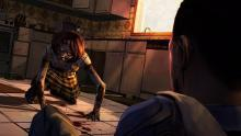 Experience emotional twists as you play through The Walking Dead