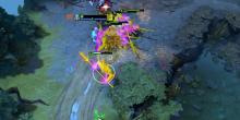 By binding a control group hotkey to Phantom Lancer's tanky Doppelganger illusion, you easily bait out an enemy reaction to chase that illusion.