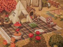 The decorating options are endless in Animal Crossing: New Horizons.
