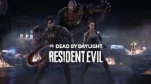 dbd, dead by daylight, resident evil, leon, nemesis, jill, cover art