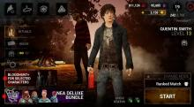 Quentin being feature in DbD Mobile