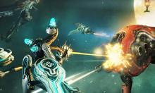 Teamwork makes the dream work as these tenno work together to take down a great foe.