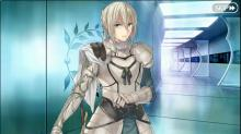 A quiet moment alone in Chaldea with Bedivere
