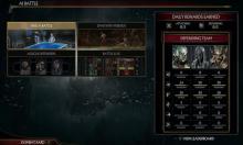 The AI battles menu has multiple options.