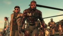 Snake along with several of his companions prepare for an upcoming mission in Metal gear Solid V: The Phantom Pain