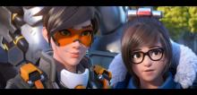 Tracer and Mei talking in the latest Overwatch 2 cinematic