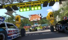 Trackmania is a vibrant and fast-paced racing game that lets you battle it out with friends to see who is the fastest