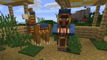 Similar to villagers, traders come on llama bearing trades to your doorstep!