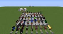 A showcase of many trains from Traincraft