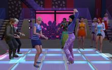 A Dance Battle between two Sims in Windenburg