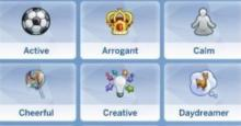 There are a lot less traits in Sims 4 than Sims 3 but a mod can improve this