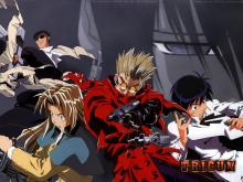 Trigun, vash and friends