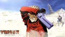 Trigun, Vash, the desert