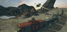 Send enemies off in a haze of smoke as you protect your vessel and crew onboard the locomotive.