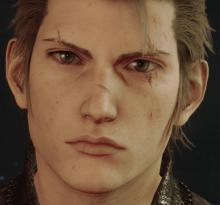 Ignis, ten years after the main game.
