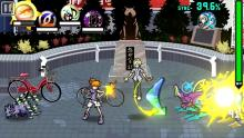 The World Ends with You Neku and Joshua Combat