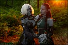 Gorgeous and creative Cosplay straight out of Elder Scrolls!