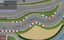 Gamers can zip around 2D tracks in F1 cars