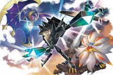 The battle for Alola's light ensues between Necrozma, Solgaleo, and Lunala!