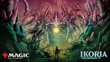Showcase art to promote the land of mutating monsters