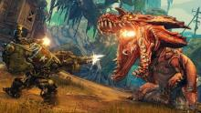 Borderlands 3 is the only game on the market where you can fight Dino's in mechs. probably