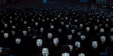 The revolution in V for Vendetta is something truly breathtaking.