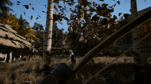 Hide in the forests and use your bow to shoot like a true nord and kill with only one arrow