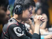 Usually calm, Clearlove occassionally succumbs to nerves when the pressure is on.
